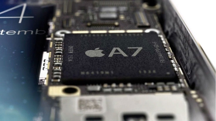 Apple's A7 processor is made by Samsung 94