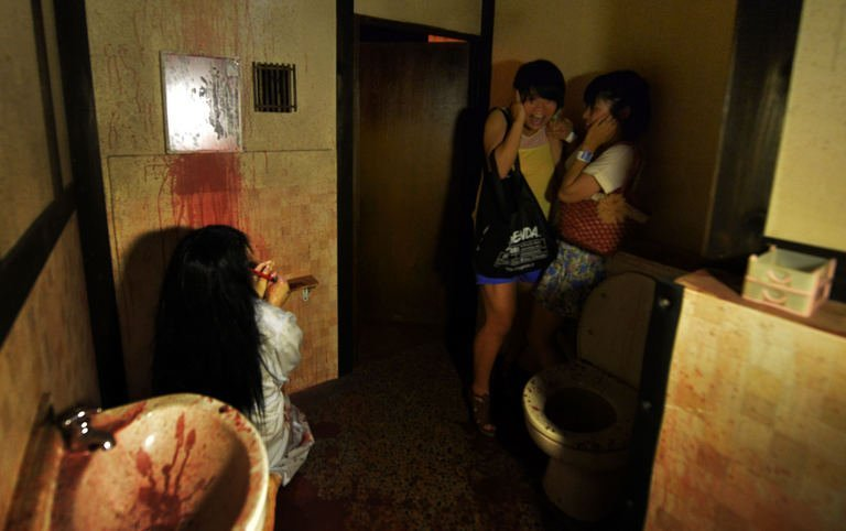 Haunted houses give Japan chills in hot summer  100