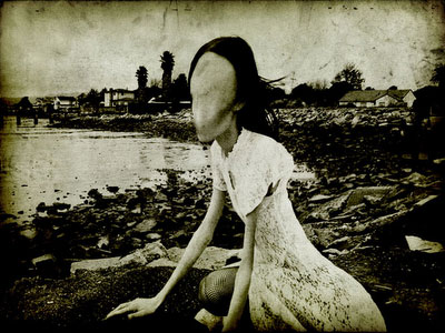 The Faceless ghost - A Nopperabou - Mujina of the Akasaka Road  105