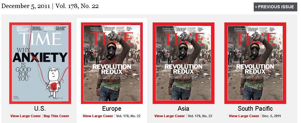 STUNNING: Comparing U.S. & World Covers for TIME Magazine 13