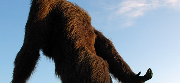 Hunter reports 'red-eyed' Bigfoot in Quebec 1