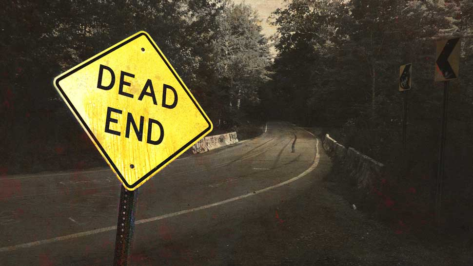Is this the scariest road in America? 86
