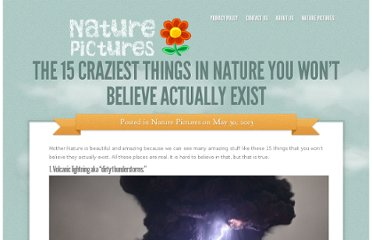 15 Things You Won't Believe Actually Exist In Nature 23