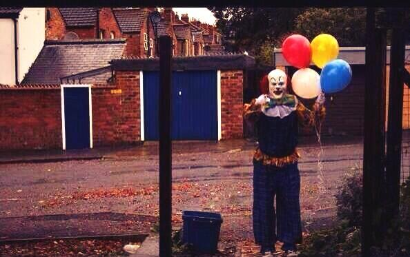 Residents Of U.K. City Spooked By Creepy Clown Lurking Outside Homes 46