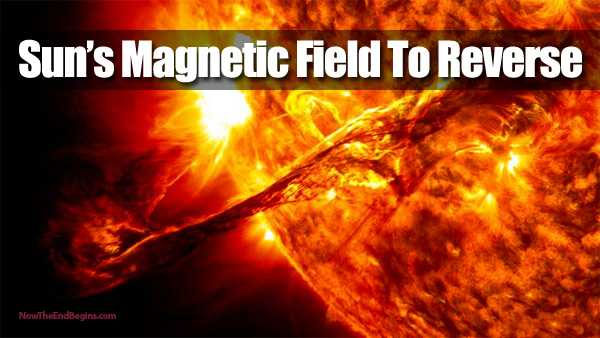 The Suns Magnetic Field Is About to Reverse 1