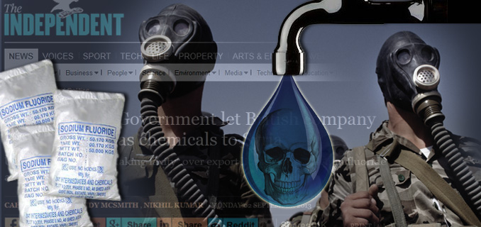 Syria's 'chemical weapons' turn out to be sodium fluoride! 9