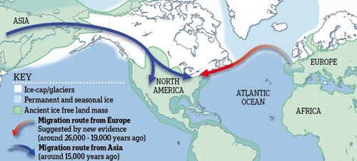 First Americans came from Europe, NOT Asia? 7