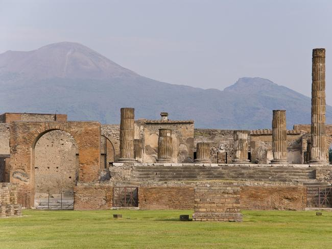 The Pompeii ruins. Picture: S J Pinkney Flickr