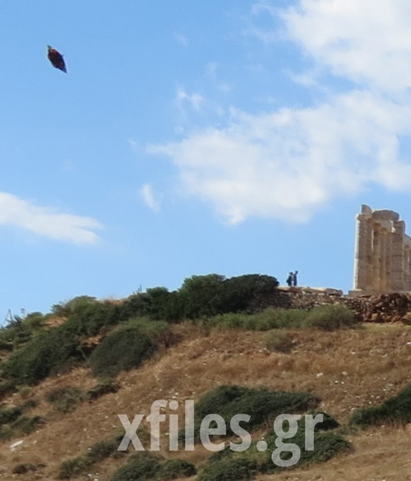 Temple of Poseidon UFO
