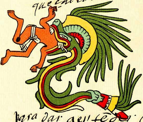 Quetzalcoatl - the mesoamerican serpent deity