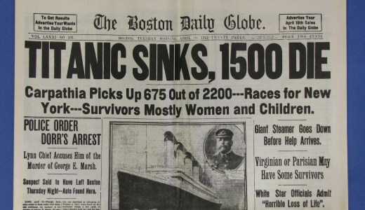 The sinking of the Titanic led to the creation of the U.S. Federal Reserve 46