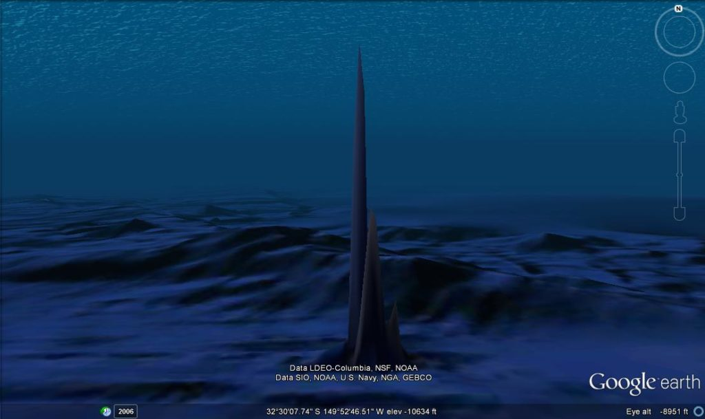Huge Underwater Obelisks and entrance Hollow Earth? 37