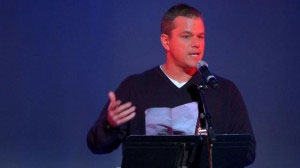 Matt Damon Gives Us All Something To Think About 86