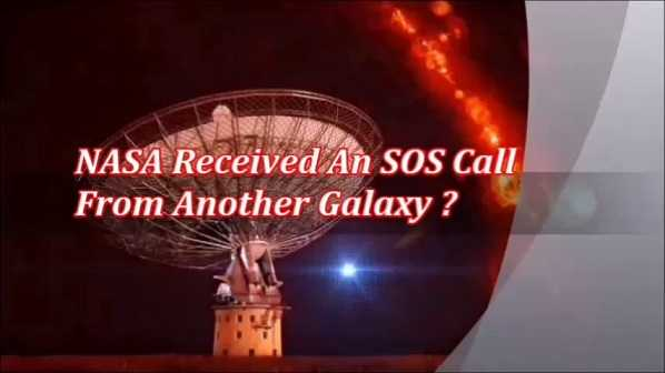 NASA experts claim to have intercepted an intergalactic distress call 24
