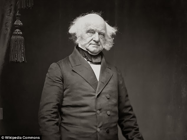 Odd man out - Only the eighth president of the U.S., Martin Van Buren, was not related to King John because he had Dutch roots