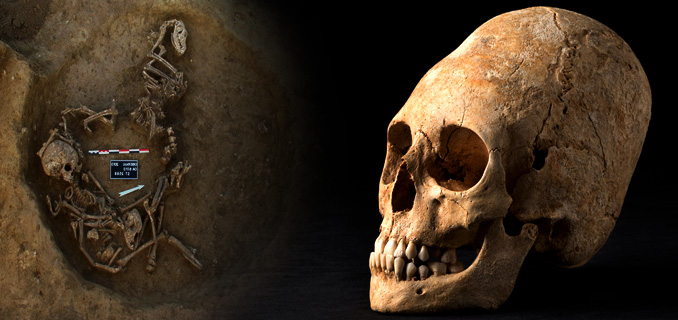 Archaeologists Discover Mysterious Elongated Skulls in France 8
