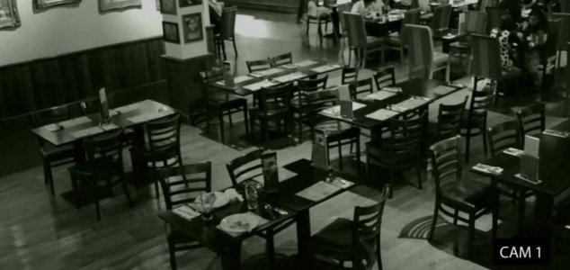 'Poltergeist' disturbs Luton restaurant table 1