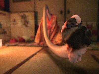 Rokurokubi - Long Neck Japanese Legendary Ghosts  86