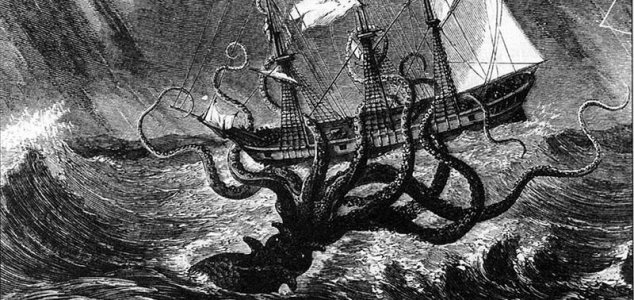 Was the kraken ever a real creature ? 1