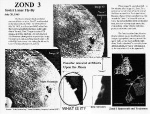 Photograph taken by the Lunar Orbiter conjure up some questions about unknown structures found on the Moon.