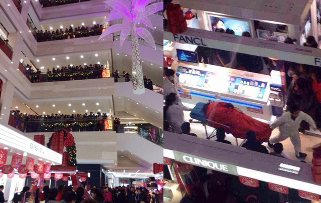 Chinese Man Commits Suicide At Mall After Girlfriend Refuses To Stop Shopping 91