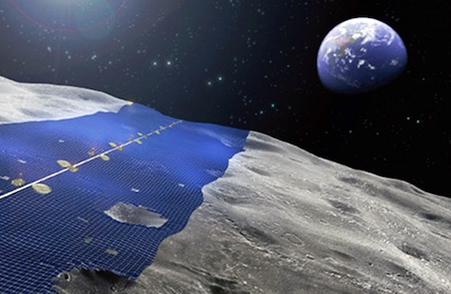 Japan's Plan To Supply All The World's Energy With A Power Plant On The Moon 1