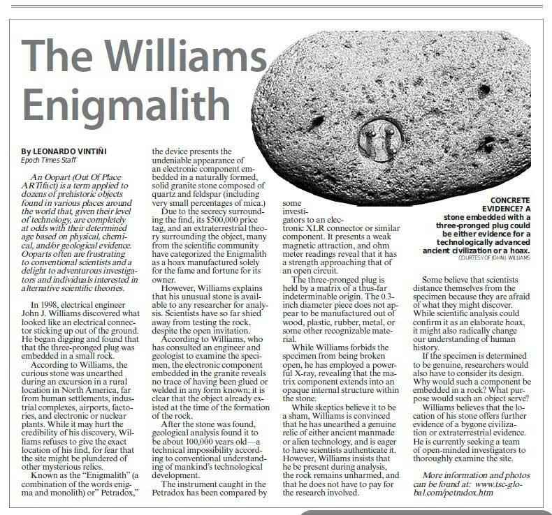The Williams Petradox 91