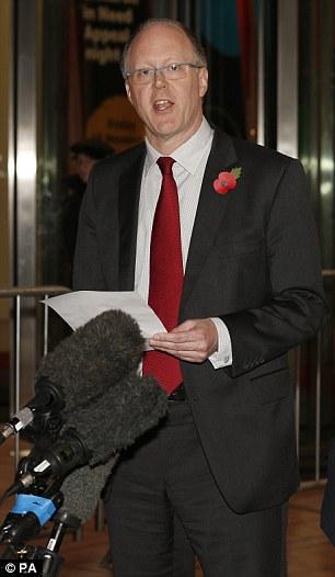 Former BBC director general George Entwistle