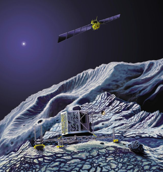 Rosetta Beamed Its First Signal To Earth: The Probe Successfully Woke Up From Long Deep Space Hibernation! 13