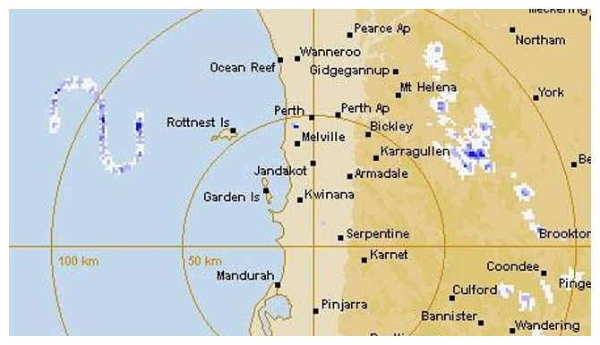 The mystery of the giant S-shape 'Rott Nest monster' detected by weather radar near Western Australia 14