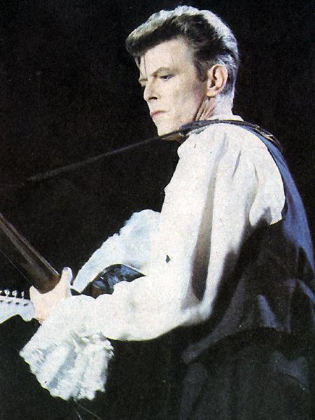 """David Bowie en """"Rock in Chile"""""""