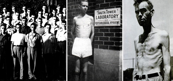 The US wartime experiment that starved men almost to death 104
