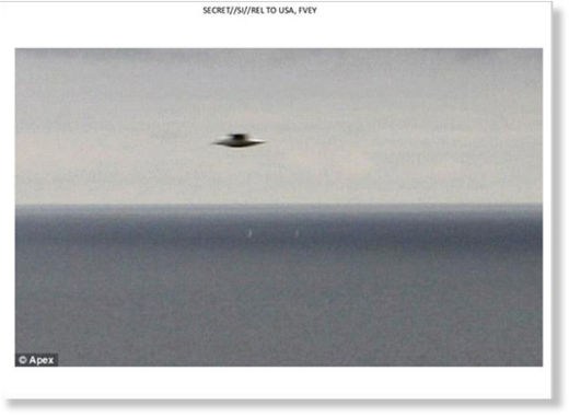 A deliberate deception, a psy-op, or something real? Mysterious 'flying saucer' slides found in documents leaked by Edward Snowden 4