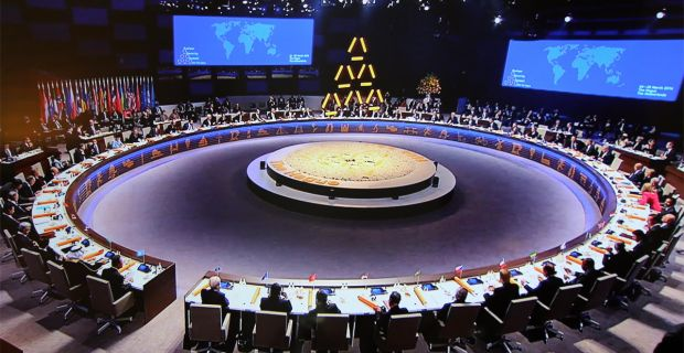 Shocking Video Of World Leaders Wearing The Symbol Of The Pyramid At Major International Meeting 101