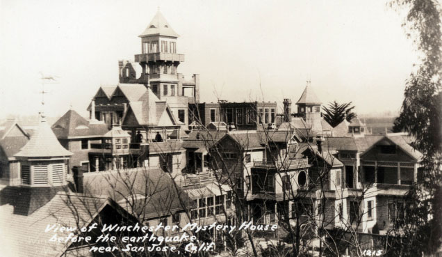 Haunted Winchester Mystery House to Allow Overnight Stays 1