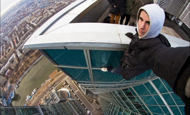 Russian Daredevil: This video is so insane that you might have to stop watching 1