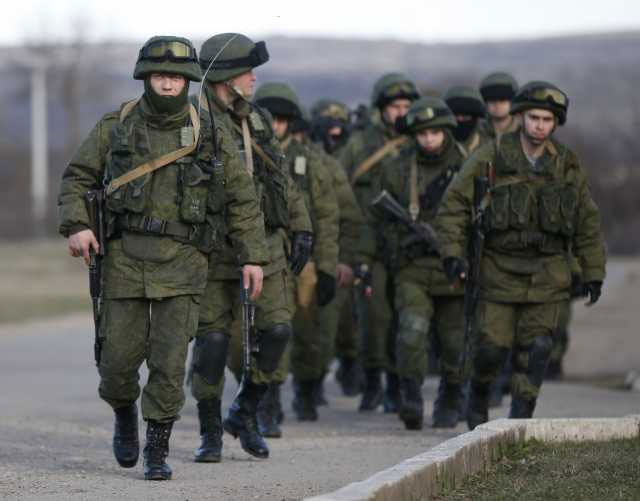 100,000 Russian forces have massed on Ukraine's border 20