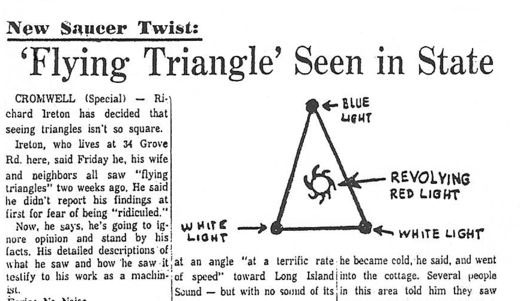 Triangle UFOs fly in the face of logic 1