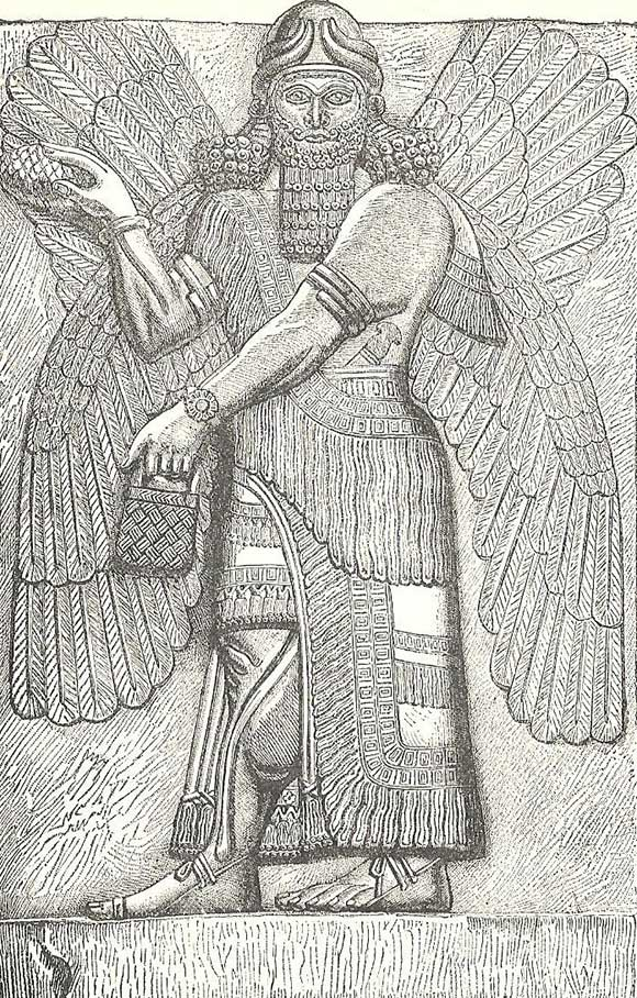 winged-god