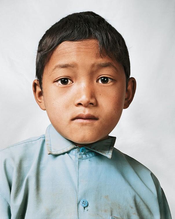 Bikram, 9, Melamchi, Nepal