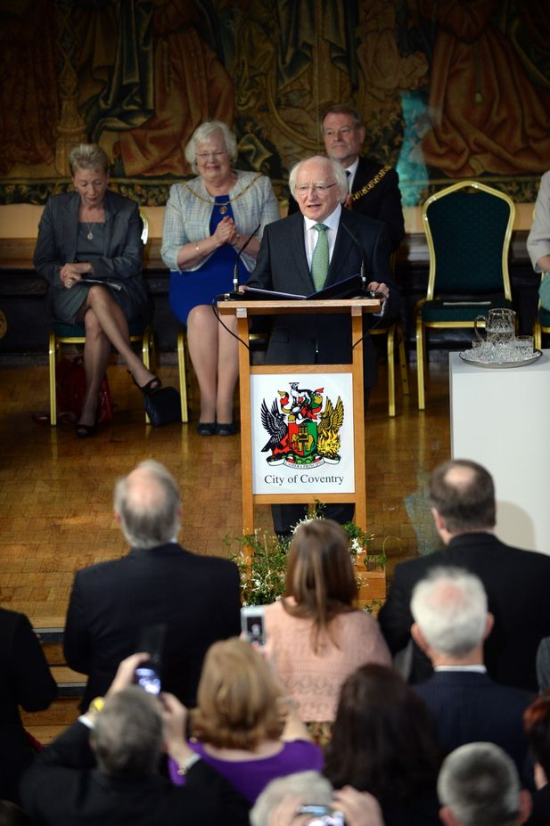 Look: Was a ghost spotted during Irish President's visit to Coventry? 7