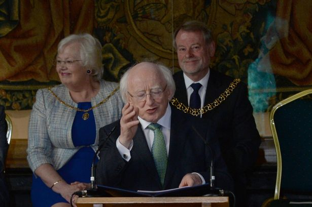 Look: Was a ghost spotted during Irish President's visit to Coventry? 6