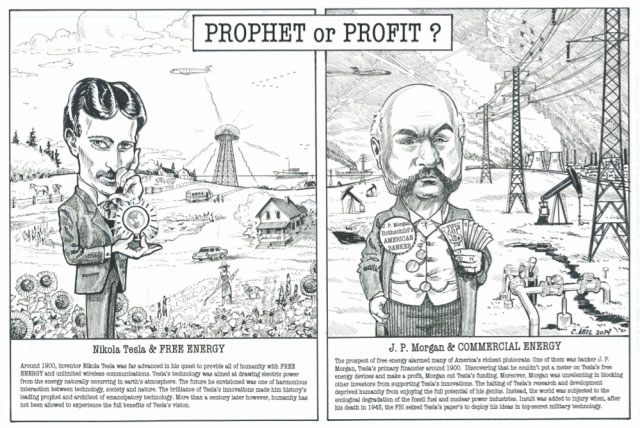 Prophet or Profit? Nikola Tesla's Vision vs J.P. Morgan's Greed 72