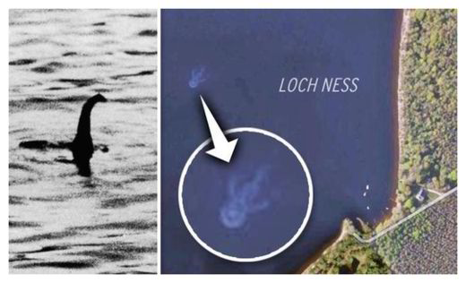 New images from space appear to show Loch Ness monster is 'alive'  27