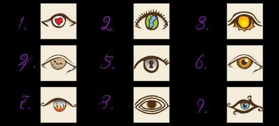 A Fun Personality Test! Choose An Eye And See What It Reveals 96