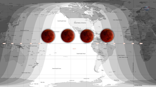 Bad Moon Rising: The April 15th Eclipse is the First of Four Blood Moons 11