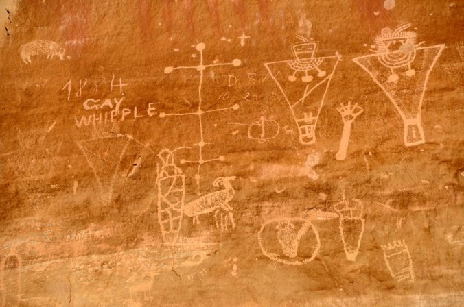 The Haunting Rock Art of Sego Canyon – Extra-Terrestrials or Spiritual Visions? 33