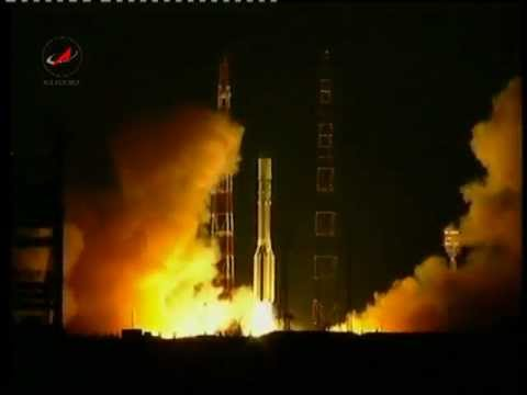 Did A UFO Just Take Down Russia's Proton Rocket? Was It A Missile? Fascinating Video Footage 1