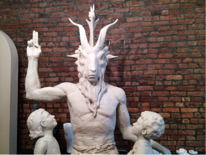 Here's the First Look at the New Satanic Monument Being Built for Oklahoma's Statehouse 97