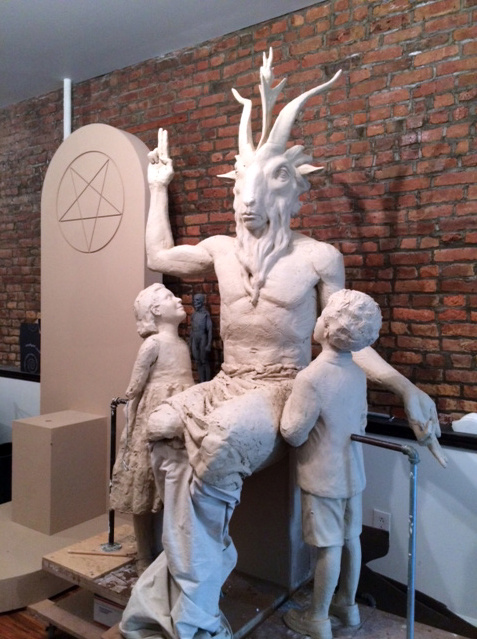 Here's the First Look at the New Satanic Monument Being Built for Oklahoma's Statehouse 98